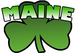 Maine Shamrock T-Shirts