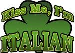 Kiss Me I'm Italian T-Shirts