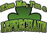 Kiss Me I'm a Leprechaun T-Shirts