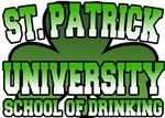St. Patrick University School of Drinking T-Shirt