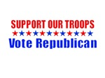 Support Our Troops - Vote Republican