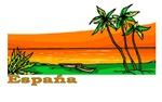 Espana Orange Ocean
