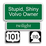 Stupid Shiny Volvo Owner - Edward