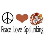 Peace Love Spelunking