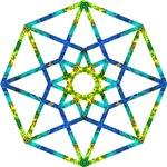 Sacred Geometrical Artworks - Tshirts, bags, tiles