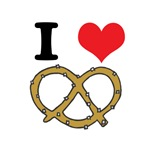 I Heart (Love) Pretzels
