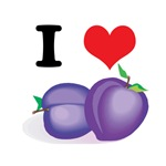 I Heart (Love) Plums
