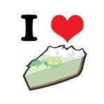 I Heart (Love) Key Lime Pie