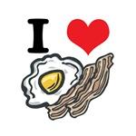 I Heart (Love) Bacon and Eggs