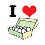 I Heart (Love) Eggs