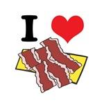 I Heart (Love) Bacon