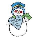 No Snowflake Like Home Snowman