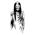 Creepy Zombie Girl