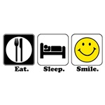 Eat. Sleep. Smile.