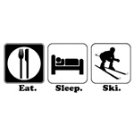 Eat. Sleep. Ski.
