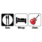Eat. Sleep. Jam. (Guitarist/Bassist)