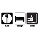 Eat. Sleep. Fish.