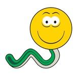 Snake Smiley Face