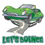 Let's Bounce Sports Car