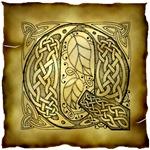 Celtic Knotwork Letter Q