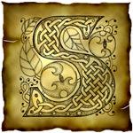 Celtic Knotwork Letter S