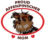 proud affenpinscher mom