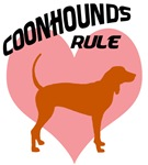 coonhounds rule w/ heart