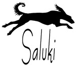 Art Deco Saluki
