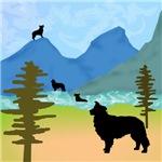 Wild Mountain Border Collies