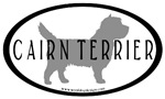 Cairn Terrier Oval #2