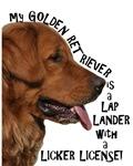 LAP LANDER ~ GOLDEN RETRIEVER (A)