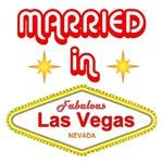 Married in Vegas T-shirts, Married In Vegas Gifts