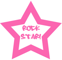 Rock Star T-Shirts, Gifts, Buttons, Stickers