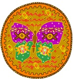 Primitive Butterfly Aztec Mandala T-Shirts Gifts