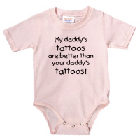 My Daddy's tattoos!