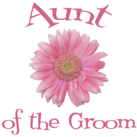 Aunt of the Groom Wedding Apparel Gerber Daisy