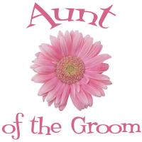 Aunt of the Groom Wedding Apparel Gerber Daisy