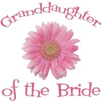 Bride's Granddaughter Daisy Pink Wedding Apparel