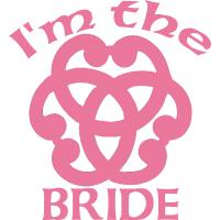 Celtic Knot Bride Wedding Party Apparel
