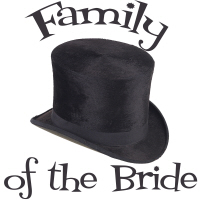 Top Hat Wedding Party Bride's Family T-Shirts