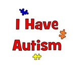 I Have Autism (red)