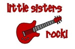 Little Sisters Rock! red guitar