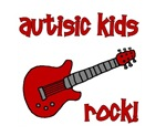 Autistic Kids Rock!  Red Guitar