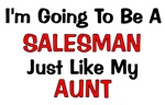 Salesman Aunt Profession