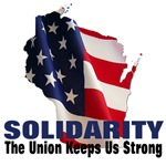 Solidarity - State Flag - Union Keeps Us Strong