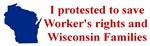 I Protested ...
