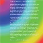 Rainbow Bridge (Pet Loss)