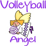 VolleyChick Volleyball Ornaments