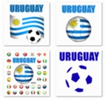 URUGUAY World Cup 2010 t-Shirts