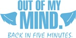 out of my mind t-shirts